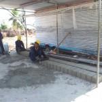 HA Thuraakunu - Boundary wall block casting works